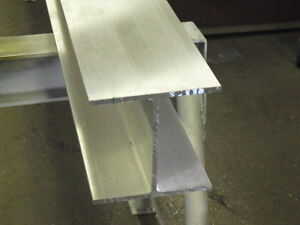 Aluminum I Beam 6 X 240 X 6 X 60 Long 6061 t6 Mill Finish
