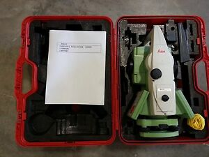 Leica Ts11 3 Total Station For Surveying