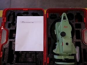Leica Tc403 Total Station For Surveying