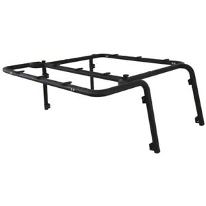 Mbrp 131894 Roof Rack System 2 Heavy Walled Tubing Bolt on Black Powder Coating