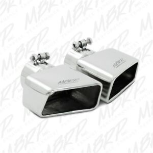 Mbrp T5120 Angled Rectangle Exhaust Tip 3 Inlet 4 5 X 2 75 Id 7 Right Side