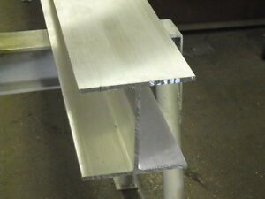 Aluminum I Beam 6 X 240 X 6 X 36 Long 6061 t6 Mill Finish