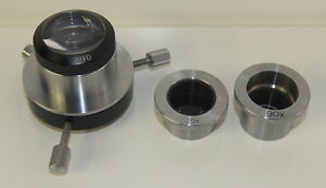Vintage Zeiss 0 65 Phase Contrast Microscope Condenser