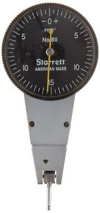 Starrett Dial Test Indicator Swivel Head 0 0 03 0 0005 0 15 0 Read