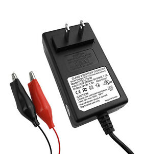 12v Automatic Battery Float Charger With Automatic Safety Shutoff Free Shipping