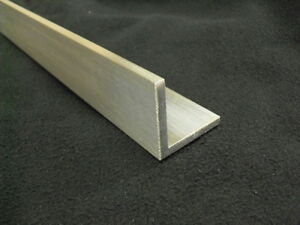 1 4 Aluminum Angle 2 X 2 X 24 Long Architectural 6063 Mill Finish