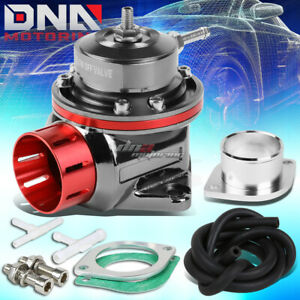 Universal Aluminum Red Type S Rs Rz 2 Bolt Flange Turbo Blow Off Valve 30 Psi