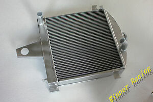 Aluminum Radiator For Mercedes Benz Oldtimer W136 170da 170 1949 1955 56mm