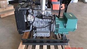 21kw Three Phase 277 480 Volts Kubota Diesel Generator Set