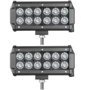 5inch 240w Led Pods Work Light Bar Spot Combo 6000k Driving Fog Atv Jeep Suv X2