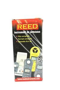 Reed Instruments Lm 81lx Compact Light Meter 20 000 Lux 2 000 Foot Candles Fc