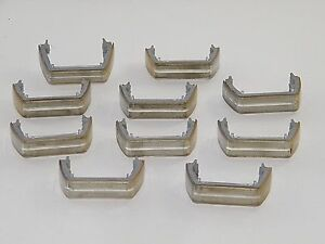 10 Whelen Liberty Lightbar Lens Dividers Spacers W Gaskets Used Great Cond