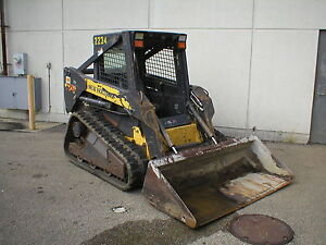 2007 New Holland Ls175 Skid Steer