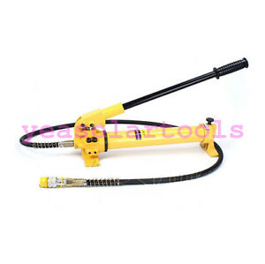 Portable Hydraulic Hand Pump With Single acting Single Circuit 70mpa 700kg cm2