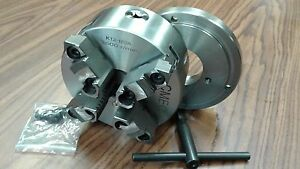 6 4 jaw Self centering Lathe Chuck W Top Bottom Jaws W D1 4 Adapter new