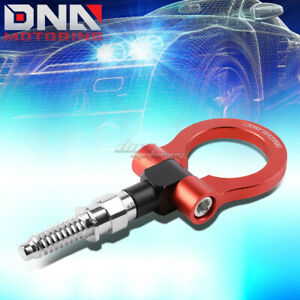 7 M15 8xp3 175 Front Rear Red Racing Tow Hook For 97 06 Bmw 3 5 7 Series Z3 Z4