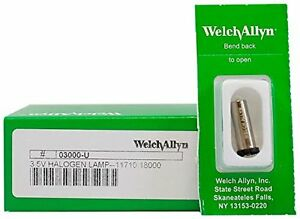 Welch Allyn Model 03000 u Original Brand 3 5v Halogen Replacement Lamp