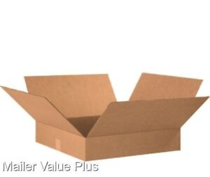 25 20 X 16 X 4 Corrugated Shipping Boxes Packing Storage Cartons Cardboard Box