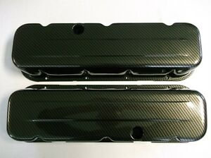 New Custom Bbc big Block Chevy Carbon Fiber Tall Valve Covers