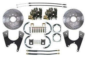 1955 68 Gm Fullsize Rear Disc Brake Conversion Kit With 11 D s Rotors