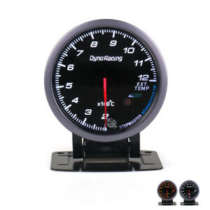 2 5 60mm Pointer Exhaust Gas Temp Temperature Gauge Led Egt Test Thermometer
