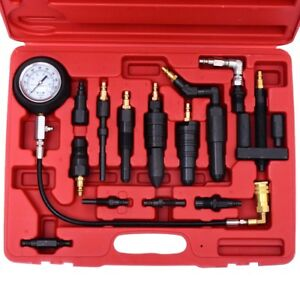 Professional Diesel Engine Compression Tester Test Set Kit For Auto Tractor