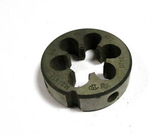 Threading Dies M24 X 1 5 0 2oz Hss By Wmw Die H16823