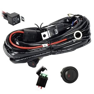 Wiring Harnesseyourlife Heavy Duty Wiring Harness Kit For Led Light Bar 300w