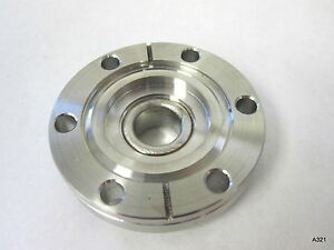 Varian Stainless Steel Vacuum Chamber Cf Conflat Flange 5 8 Bore