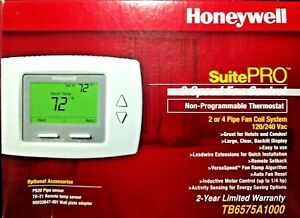 Honeywell Tb6575a1000 Non Programmable Fcu Thermostat 2 4 Pipe Application