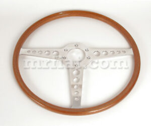 Jaguar Xke E Type Series 1 1 5 2 3 Oem Moto Lita Mahogany 16 Steering Wheel New