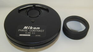 Nikon Phase Contrast Elwd 0 3 Condenser For Diaphot Inverted Microscope