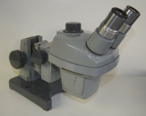 Bausch Lomb Stereo Zoom Microscope 0 7 3x W 10x Eyepieces On K Stand W E Arm