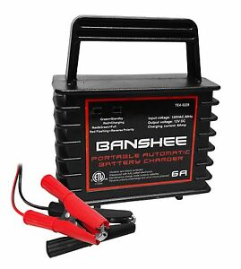 Fully Automatic Waterproof 12v Charger Maintainer For Wet Gel Agm Batteries