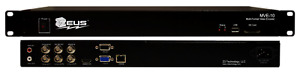 Mve 10 H 264 Hd Video Encoder Decoder Rack Mount System With Warranty