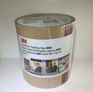 3m Flashing Tape 8067 All Weather Slit Liner 6 X 75 One Roll