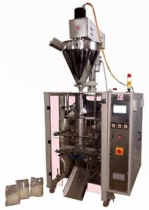 Milk Powder Pouch Filling Packaging Machine Collar Type Ffs With Auger Filler