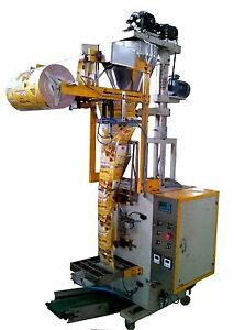 Automatic Packing Machine With Auger Filler Auger Based Pneumatic Ffs Machine