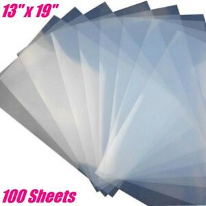 Waterproof Inkjet Transparency Film For Screen Printing 13 X 19 100 Sheets