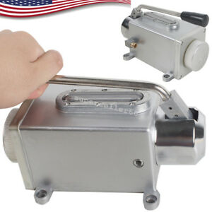 Manual Lubrication System Oil Pump Hand Operate Lubricator For Punching Machine