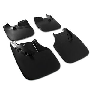 4pcs Front Rear Fender Mud Flaps Splash Guards For Toyota Tundra 2007 2013