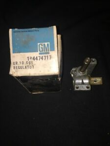 Nos Gm 4474717 Left Hand Vent Window Regulator 1965 67