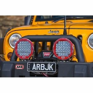 Arb 3450240 Deluxe Combination Bull Bar Fits 07 15 Wrangler jk
