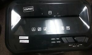 Staples 8 Sheet Capacity