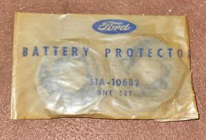 1947 1948 1949 1950 1951 1952 1953 1954 1955 Ford Mercury Nos Battery Protectors
