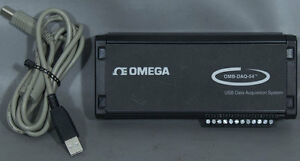 Omega Omb daq 54 Thermocouple Process Signal Usb Data Acquisition Module Daq