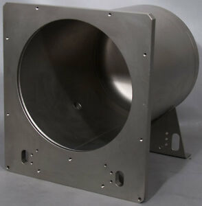 Pink Kem 150 11 5 Id X 16 5 D Stainless Steel Vacuum Chamber
