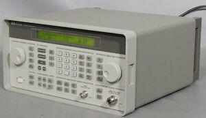 Hp agilent 8647a Synthesized Rf Signal Generator 250 Khz To 1000 Mhz 1 Ghz