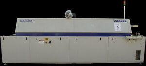 Heller 1800 exl 1800exl 8 Heat 2 Cool Zone 1808 exl 1808exl Pcb Reflow Oven