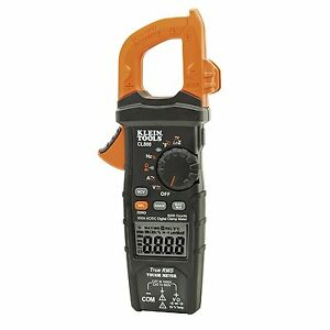 Klein Tools Clamp Meter Multimeter Test Thermocouple Testing Electric Tools